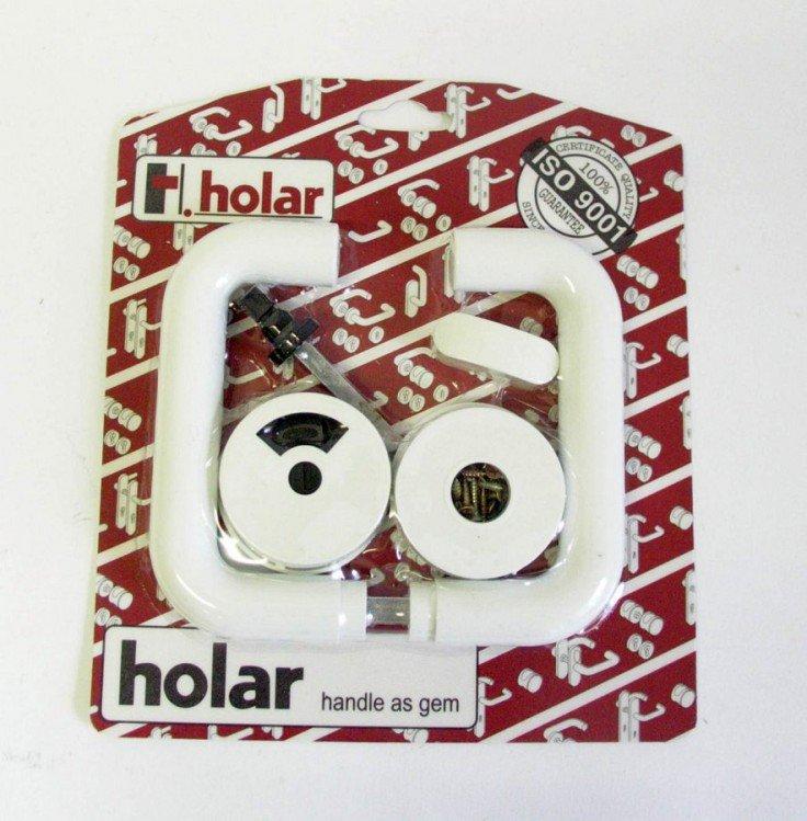 Klika WC HOLAR s ukazatelem, bílá  (1002)