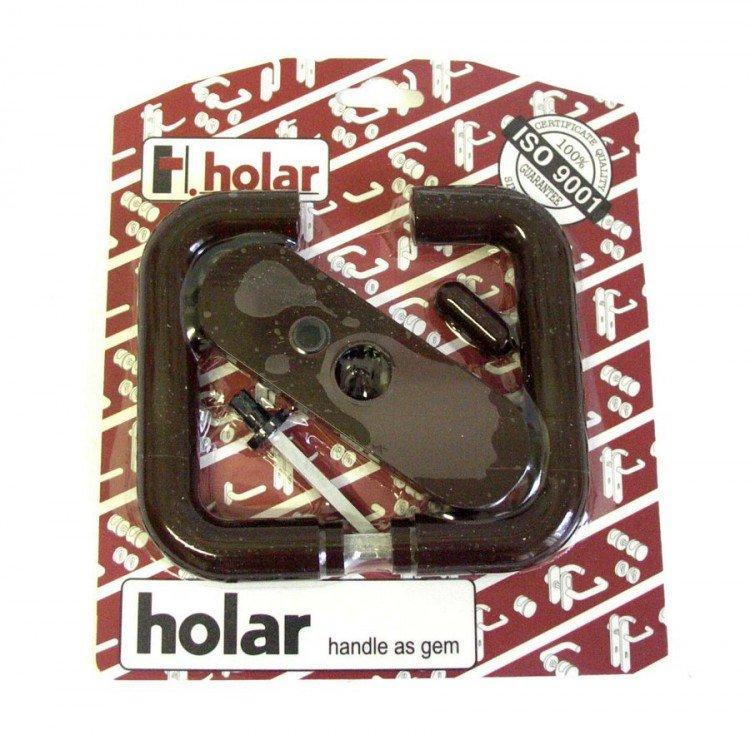Kliky se štíty s páčkou mezipokojové HOLAR hnědá  (3004)