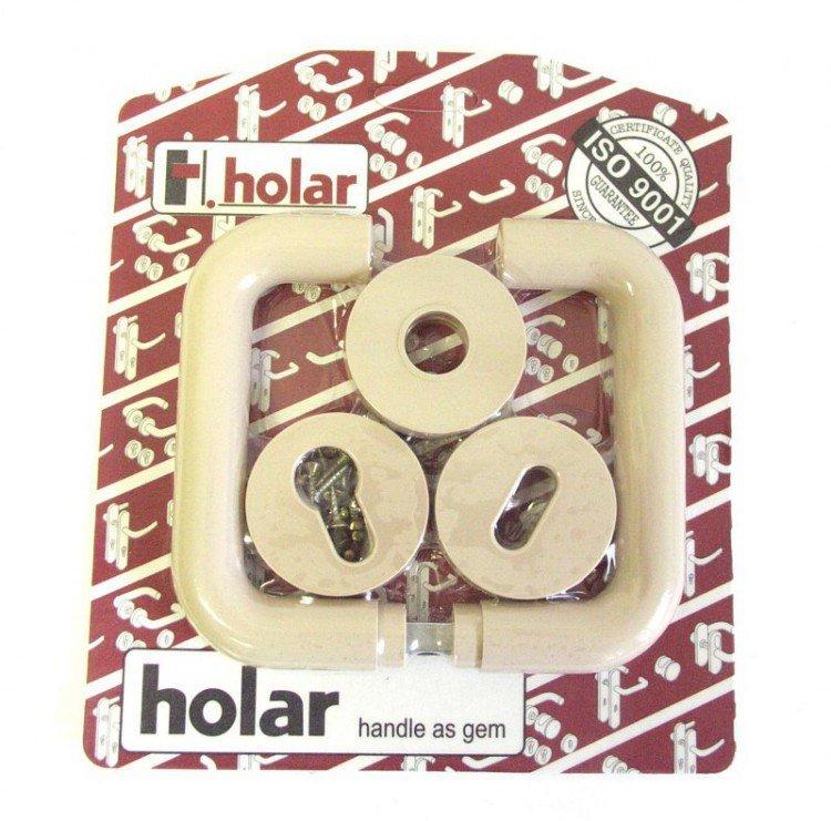 Kliky se štíty HOLAR   béžová