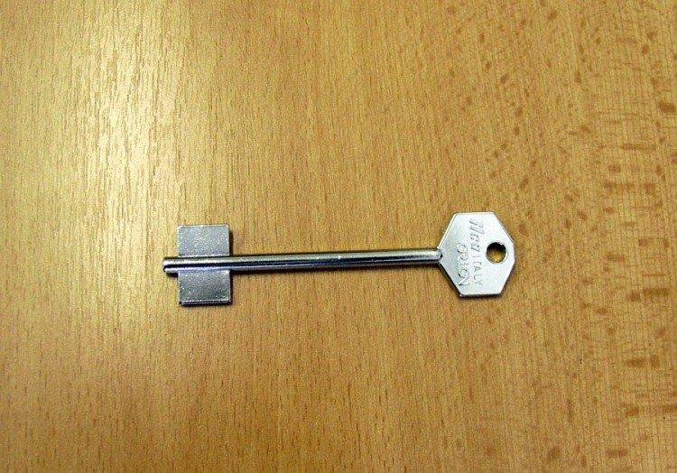 Klíč trezor.PT 5M/3PO/POL