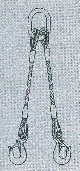 2-hák lanový pr.10mm dl.2m