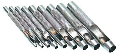 Děrovače 2,5 - 10 mm, sada 9 ks