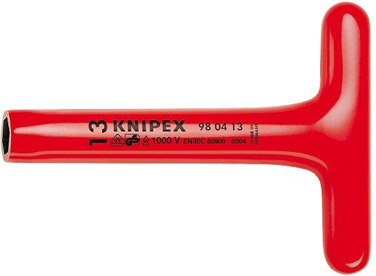 Klíč nástrčný T 17  KNIPEX 1000V