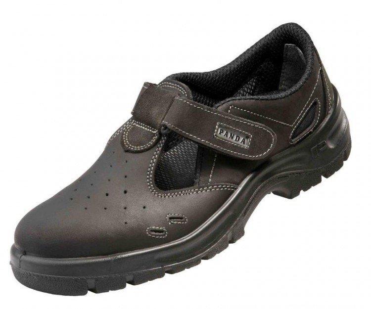 Boty pracovní PANDA-sandál 40 s oc.tužin