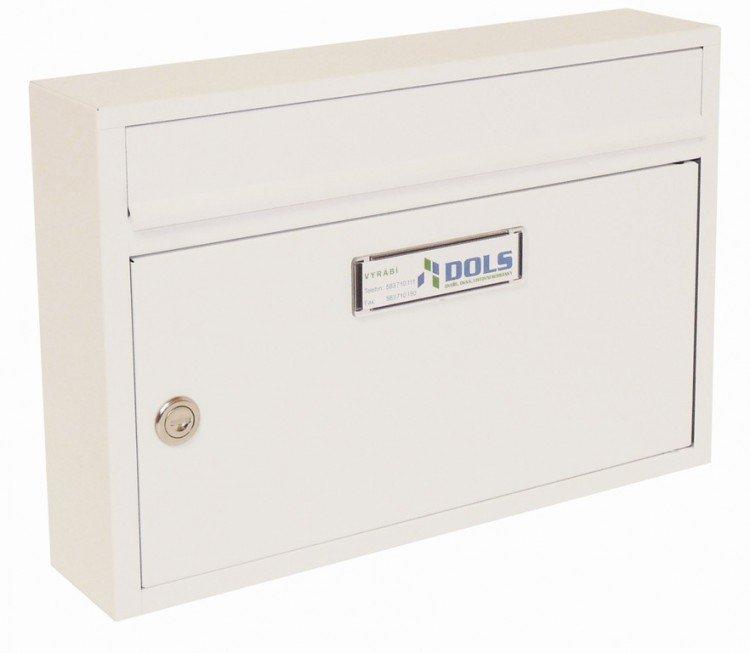 Schránka poštovní G-01 bílá RAL 9016