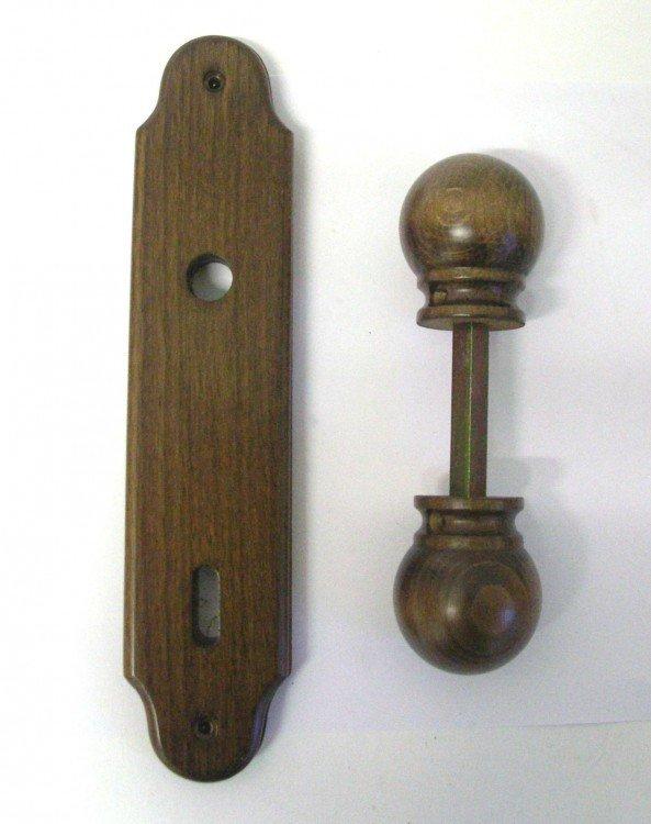 Koule VĚRA + štít 90 mm na klíč černá DOPRODEJ