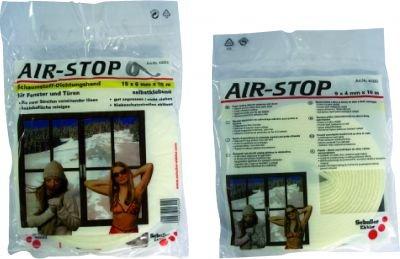 Těsnění AIR-STOP PU  9x6mm 10m
