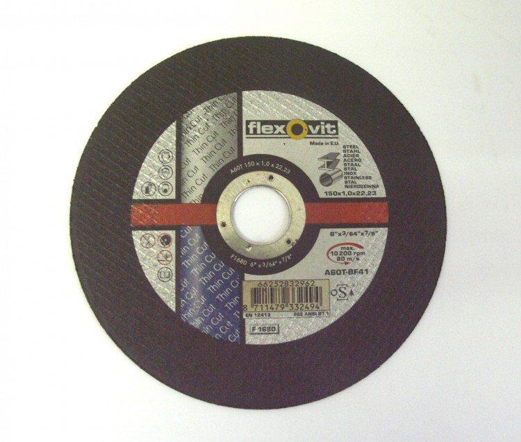 Kotouč řezací kov 150x1,2x22 INOX,METAL