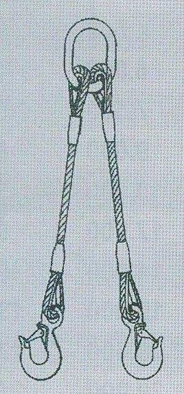 2-hák lanový pr.16mm,dl.3m