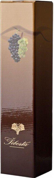 Karton dárkový na 1 lahev Lux Šebesta DOPRODEJ