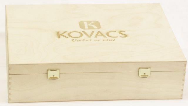 Krabička dárk.dřev.s log. 3
