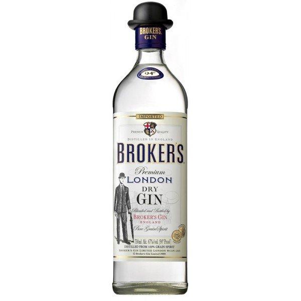 Brokers Dry Gin 0,7l 40%