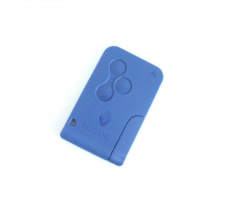 Karta MEGANE + klíč modrá DOPRODEJ