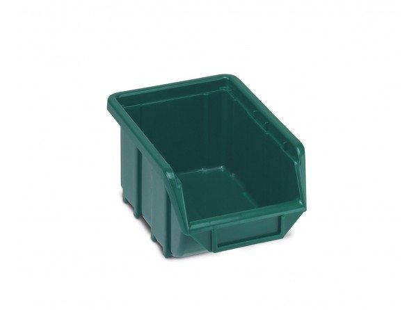 Box plastový Ecobox 111 zelený 111 x 168 x 76 mm