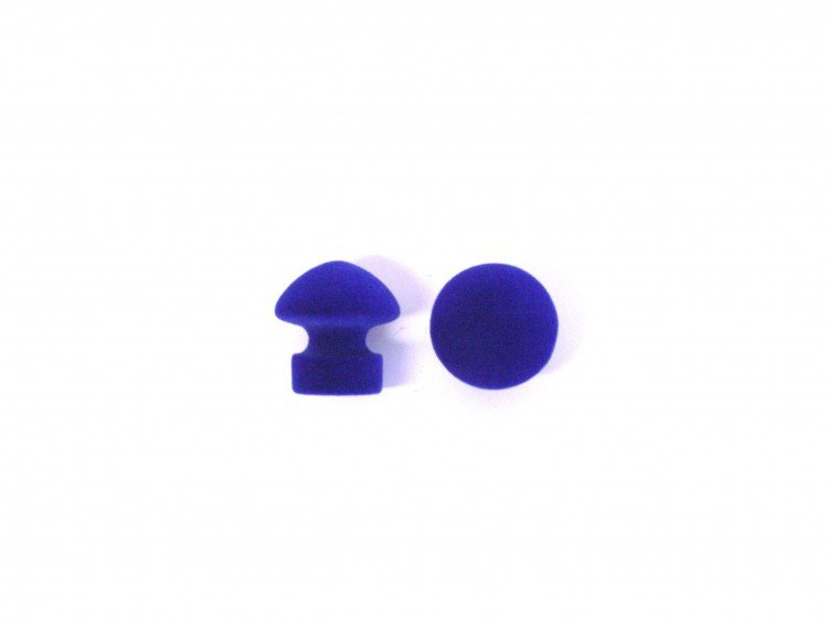 Úchyt nábytkový 351 modrý 2 ks FLOCK