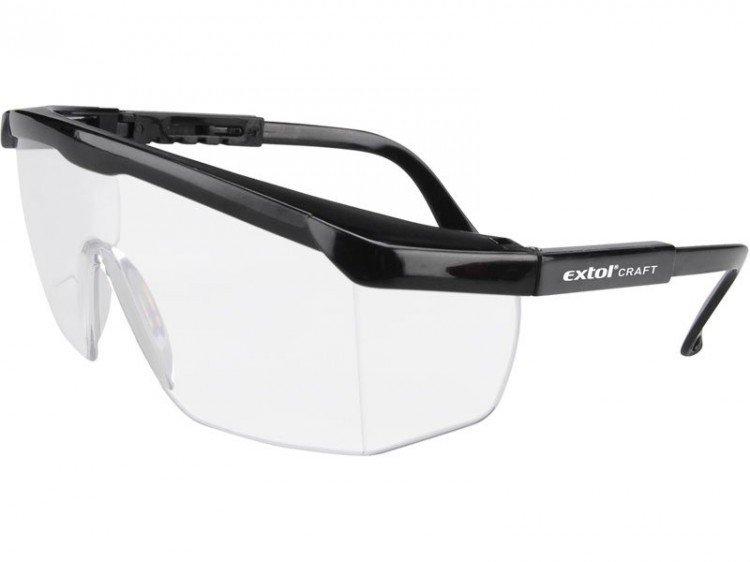 Brýle ochr.čiré, univ.velikost