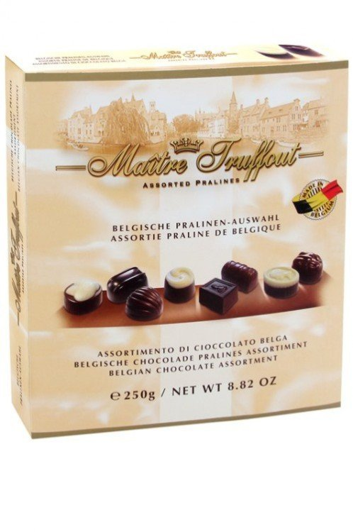Bonboniéra belgických čokoládových pralinek 250 g Maitre