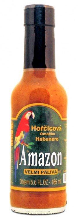 Amazon hořčicová omáčka Habanero 165 ml