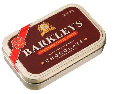 Barkleys Chocolate-mátovo-čokoládové dražá 50g