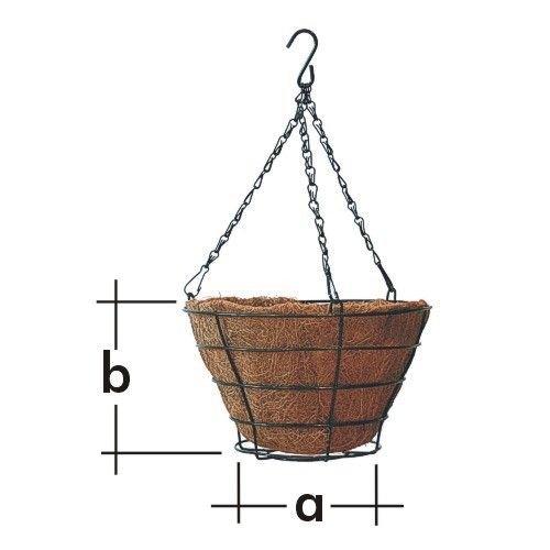 Košík závěsný pro květináč KD1 240 mm