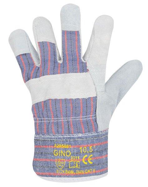 Rukavice GINO A1013/10 kombinované (10712210) (balení 12x pár)
