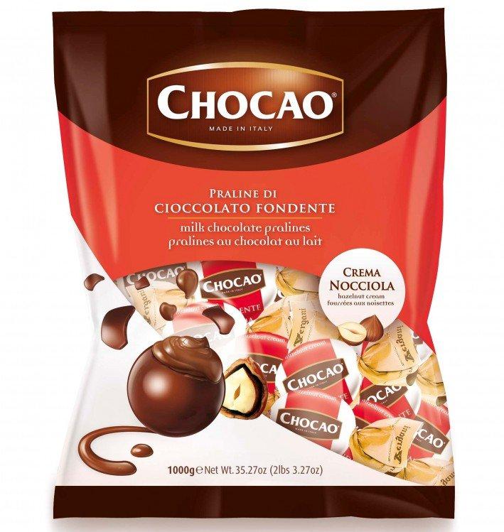 Bonbon čokoládový s oříšky 1 kg VERG