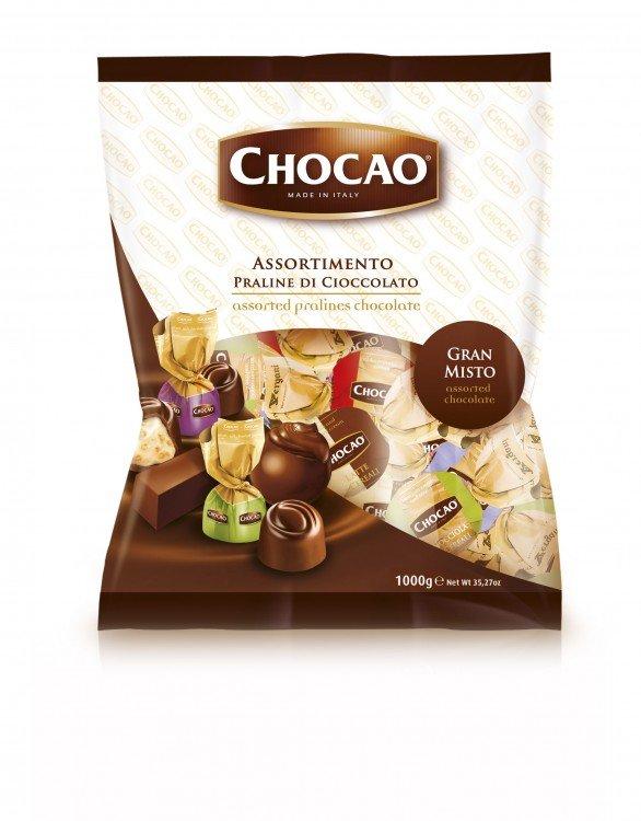 Bonbon čokoládový mix 1kg VERG