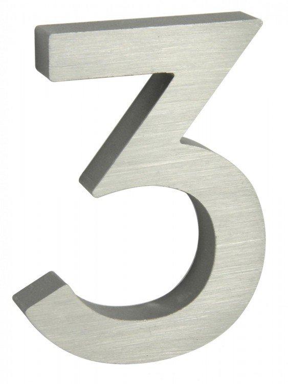 Číslice domovní 3 AL 3D