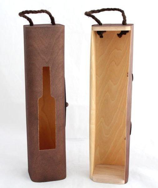 Box na 1 lahev (dýhovaný) MJ001-1
