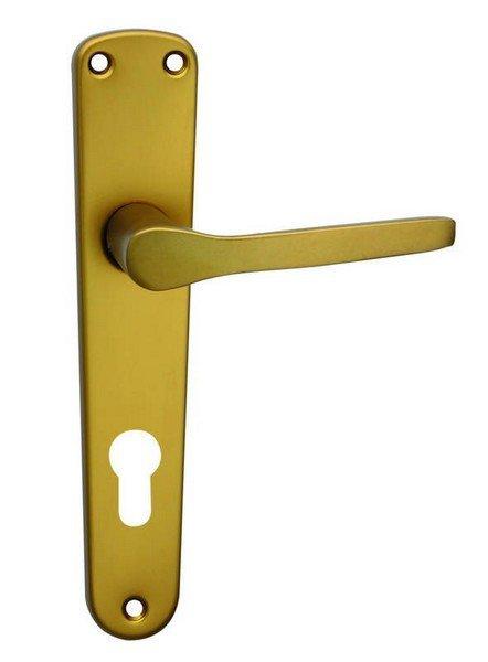 Kliky se štíty MONET 72 mm na klíč elox bronzový F4 (C
