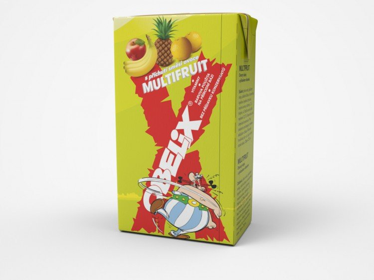 Obelix multifruit 250ml tetrapack  (OR1186)