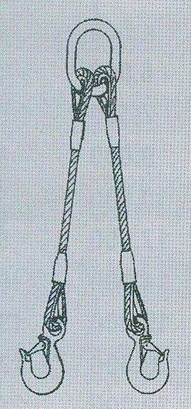 2-hák lanový pr.14mm,dl.4m
