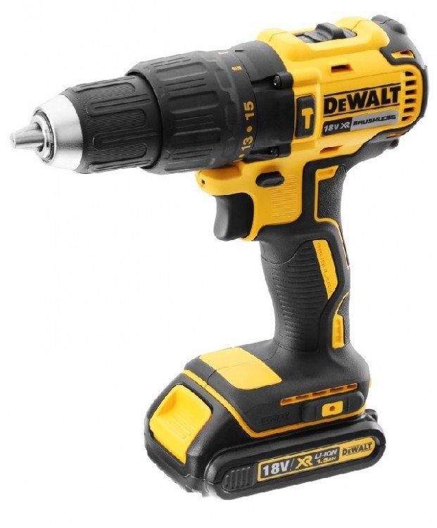 18V XR BL Hammer  Drill Driver - TSTAK