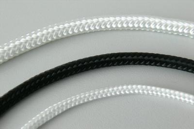 Lano (šnůra) pr. 4 polyamid bez jádra bílé 200m (LAPA4B)