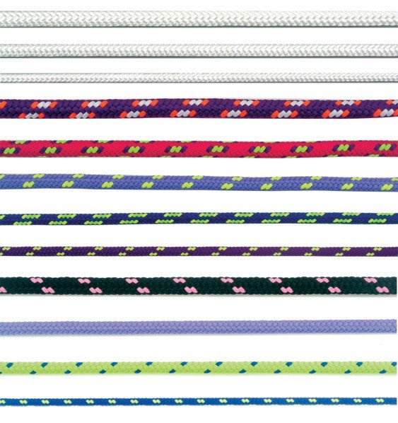 Lano (šnůra)  pr. 3 polyest.s jádrem barevné 200m (LAPES3JBA)