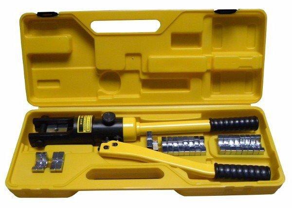 Kleště lisovací hydraulické na kabely 18t  GEKO