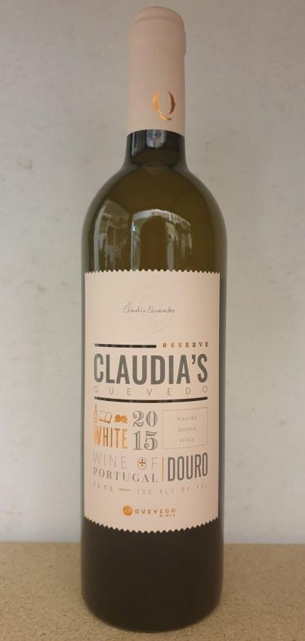 Claudias Branco 2015 0,75lt