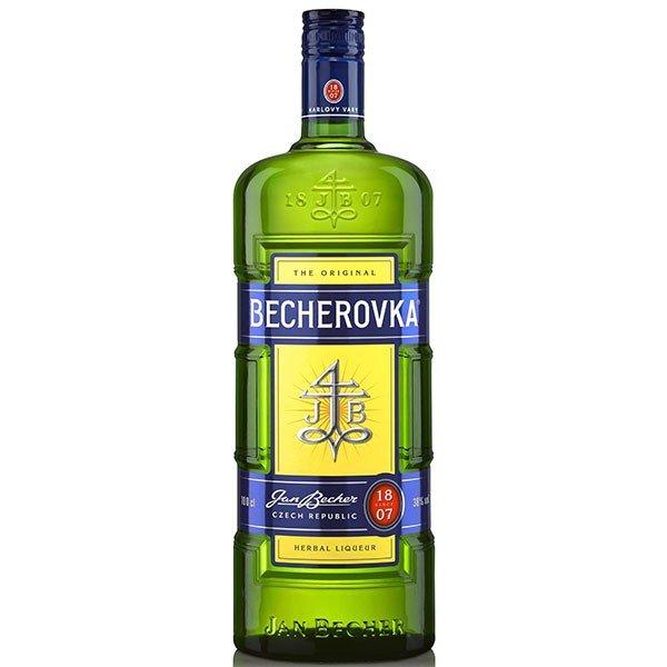 Becherovka 38% 1l  (TOBECG371)