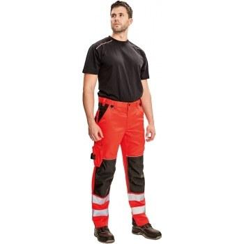 Kalhoty KNOXFIELD HV FL290 červená 56