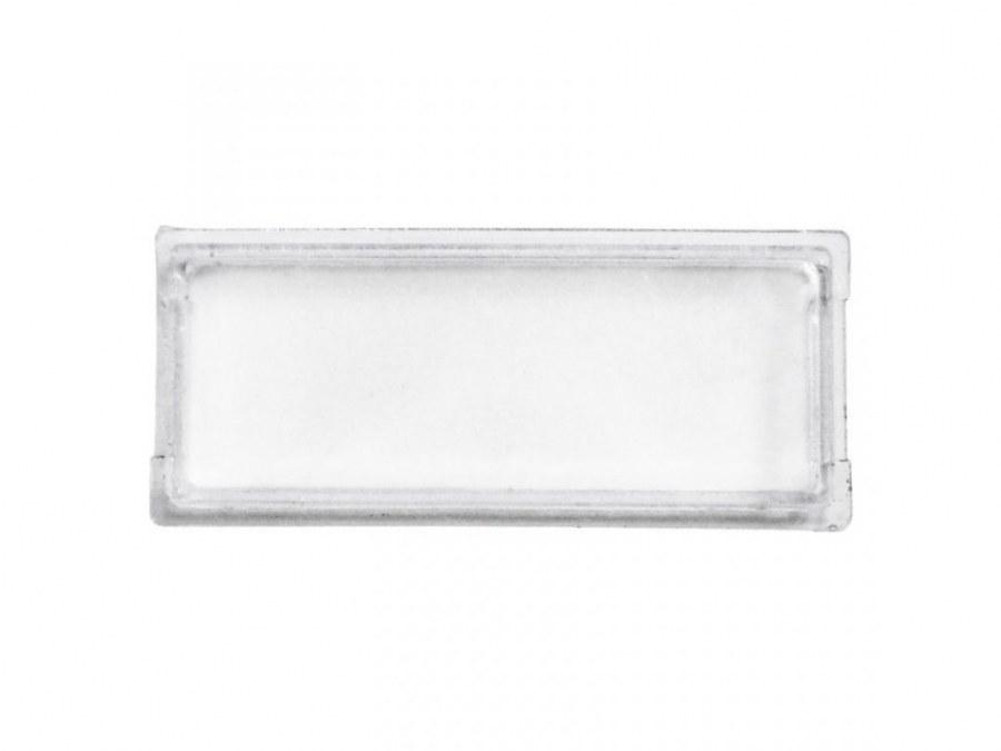 Jmenovka plastová malá 75,5 x 21,6 mm DLS E-01 BASIC (štítek 68 x 15 mm)