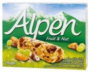 Alpen tyčinky Ovoce a ořechy 5 x 28 g