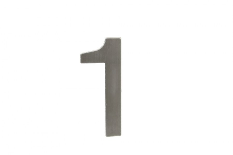 """Číslice domovní """"1"""" RN.145V.1.N, nerez  (RJCD1N)"""