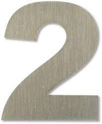 """Číslice """"2"""" 15cm nerez IN  (C C218E02)"""