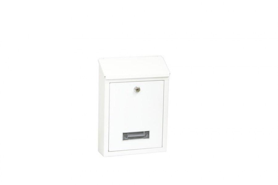 Schránka poštovní ocelová BK.70.B bílá