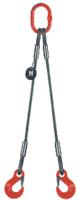 2-hák lanový průměr 16 mm,délka .2,7 m, háky OKE