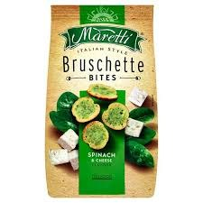 Bruschetta špenát a sýr 70 g