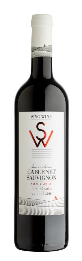 Cabernet Sauvignon PS 2018 suché, z.c.0,9g, alk. 13%