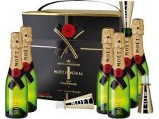 Moet&Chandon Imperial 6 x 20 cl + 6ks fluters C2 150 ANS