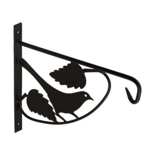 Držák závěsného květináče UK3 - ptáček černý
