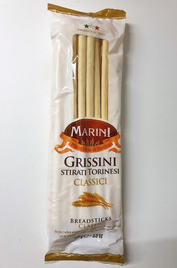 Tyčinky klasické GRISSINY 100 g Marini